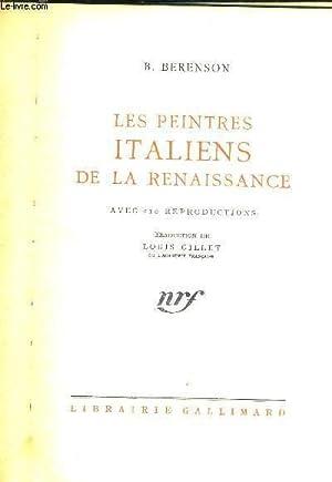 LES PEINTRES ITALIENS DE LA RENAISSANCE: BERENSON B