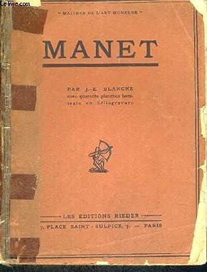MANET: BLANCHE J-E