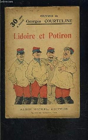 LIDOIRE ET POTIRON- TOME 8: COURTELINE GEORGES