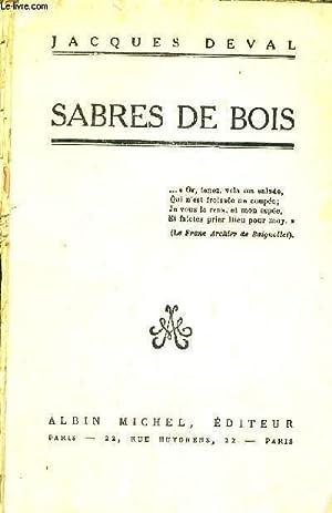 SABRE DE BOIS: DEVAL JACQUES
