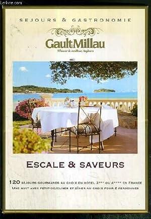 COFFRET - SEJOURS & GASTRONOMIE - GAULT & MILLAU - ESCALE & SAVEURS - 120 SEJOURS ...