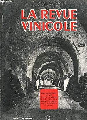 LA REVUE VINICOLE INTERNATIONALE N° 30 ÉDITORIAL: COLLECTIF
