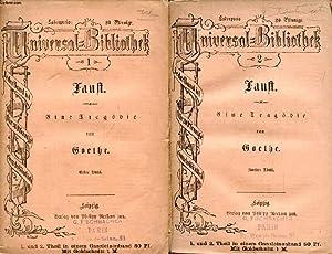 FAUST, EINE TRAGÖDIE, 2. THEILE: GOETHE Johann Wolfgang