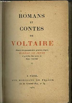ROMANS ET CONTES DE VOLTAIRE tome 2: LE JEUNE MOREAU