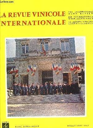 LA REVUE VINICOLE INTERNATIONALE N° 136 LE « PINEAU DES CHARENTES», prestigieuse ressource de l ...