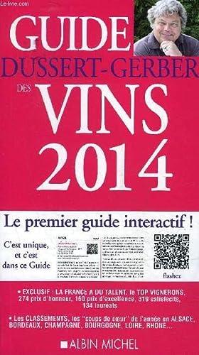GUIDE DUSSERT GERBER DES VINS 2014 - ENVOI DE DUSSERT.: DUSSERT GERBER