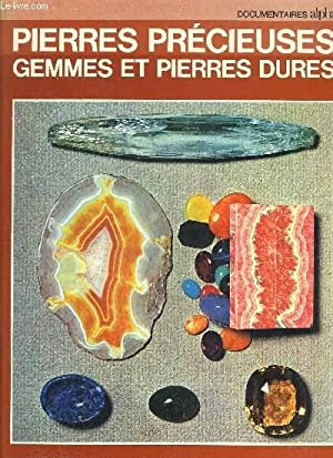 PIERRES PRECIEUSES GEMMES ET PIERRES DURES.: SCHUBNEL HENRI JEAN