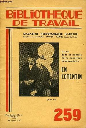 BIBLIOTHEQUE DE TRAVAIL N°259 - EN COTENTIN: COLLECTIF