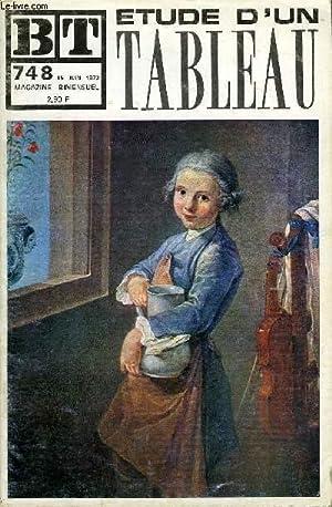 BIBLIOTHEQUE DE TRAVAIL N°748 - ETUDE D'UN TABLEAU + SUPPLEMENT N°325-326 : ETUDE D&#...