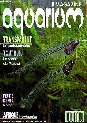 AQUARIUM MAGAZINE N° 39 Transparent le poisson: COLLECTIF