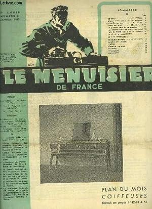 REVUE LE MENUISIER DE FRANCE N°61 -: COLLECTIF