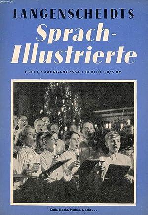 LANGENSCHEIDTS SPRACH-ILLUSTRIERTE, HEFT 4, 1954 (Inhalt: Was ist Humus ? Frankfurt am Main. Das ...