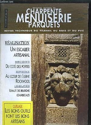 LE NOUVEAU JOURNAL DE CHARPENTE-MENUISERIE-PARQUETS - REVUE: COLLECTIF