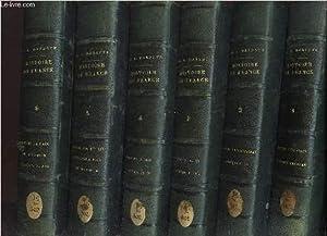 HISTOIRE DE FRANCE - EN 8 VOLUMES - du tome 1 au tome 8 / Depuis les origines jusqu'a nos...