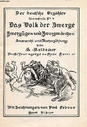 DAS VOLK DER ZWERGE (DER DEUTSCHE ERZÄHLER, N° 4): NEIBECKER A.