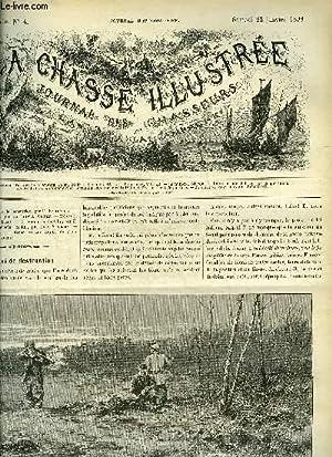 LA CHASSE ILLUSTREE N° 4 Une loi de destruction par Bellecroix - chasses à la sauvagine ...