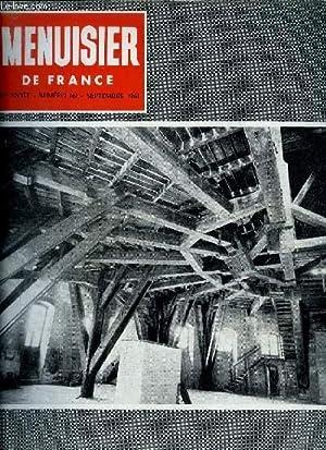 MENUISIER DE FRANCE N°161 - SEPT. 1961: COLLECTIF