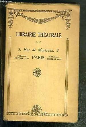 LE PERE LEBONNARD - COMEDIE EN QUATRE ACTES, EN VERS REPRISE A LA COMEDIE FRANCAISE LE 4 AOUT 1904....