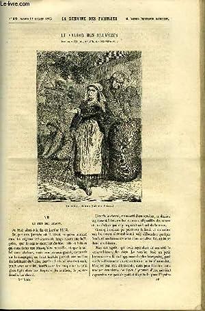 LA SEMAINE DES FAMILLES 5EME ANNEE N°42 - LE VALLON DE BRUYERES VII DE AMEDEE AUFAUVRE, ...