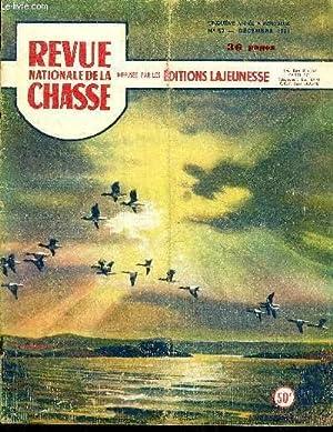 REVUE NATIONALE DE LA CHASSE N° 52 Seul pour Noël, conte inédit de Geobses Pastis ....