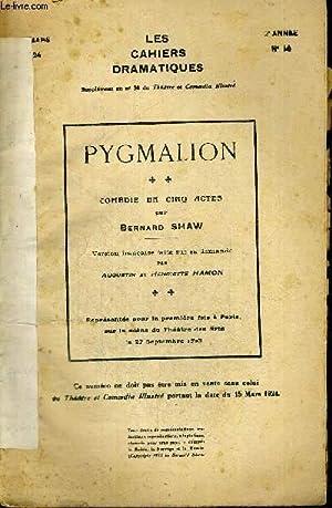 LES CAHIERS DRAMATIQUES + SUPPLEMENT AU N°30 DU THEATRE ET COMEDIA ILLUSTRE - MARS 1924 - 2E ...