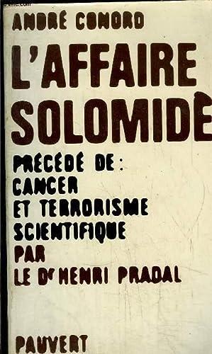 L'AFFAIRE SOLOMIDES: CONORD ANDRE