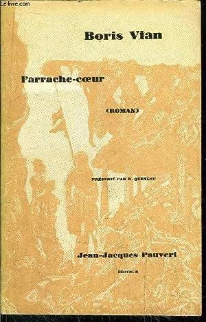 L'ARRACHE-COEUR: VIAN BORIS