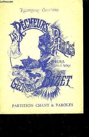 LES PECHEURS DE PERLES - OPERA EN 3 ACTES: CARRE & CORMONT