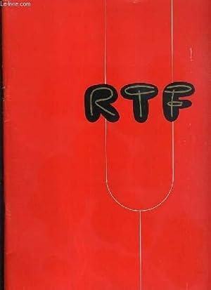 RTF - 10 siecles de musique, theatre, le theatre à la radio, les emissions dramatiques &...
