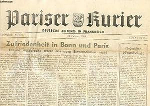 PARISER KURIER, 13. JAHRG., Nr. 545, 22.: COLLECTIF
