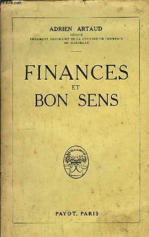 FINANCES ET BON SENS: ARTAUD ADRIEN