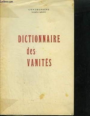 DICTIONNAIRE DES VANITES - NUMERO SPECIAL: COLLECTIF
