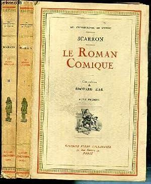 LE ROMAN COMIQUE - 2 VOLUMES EN 2 TOMES - I + II / COLLECTION LES CHEFS-D'OEUVRE DE L&#...