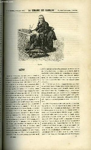 LA SEMAINE DES FAMILLES 26EME ANNEE N°14 - GRETRY DE A. LIONEL, LES ENFANTS DE RAVINOL ET LE ...