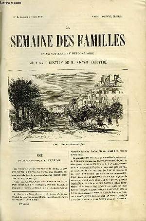 LA SEMAINE DES FAMILLES 27EME ANNEE N°1: DUSSIEUX S, MARBEUF