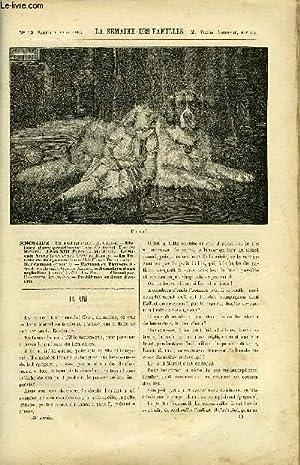 LA SEMAINE DES FAMILLES 34EME ANNEE N°49 - UN AMI DE A. GELINE, HISTOIRE DE GRAND-MERE IV DE ...
