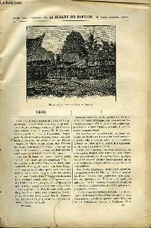 LA SEMAINE DES FAMILLES 36EME ANNEE N°22 - SUMATRA DE H. DE LUSILLY, LESTELLEY DE CHARLES BUET,...