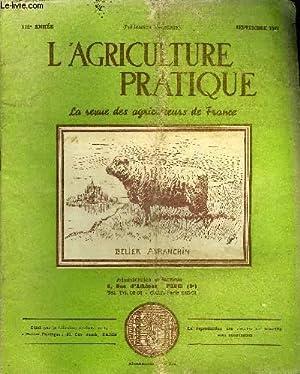 L'AGRICULTURE PRATIQUE - SEPTEMBRE 1948 - Les chambres d'agriculture - cette paradoxale ...