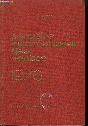 ANNUAIRE INTERNATIONAL DES VENTES 1976 - PEINTURE-SCULPTURE 1ER JANVIER - 31 DECEMBRE 1975: MAYER E...