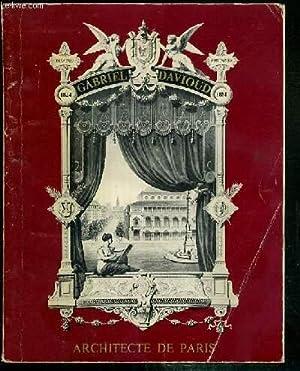 GABRIEL DAVIOUD - ARCHITECTE (1824-1881) - MAIRIES: COLLECTIF