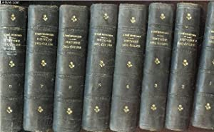 HISTOIRE DE L'EGLISE - EN 8 VOLUMES : DU TOMES 1 AU 8. / DEPUIS SON ETABLISSEMENT JUSQU&#...