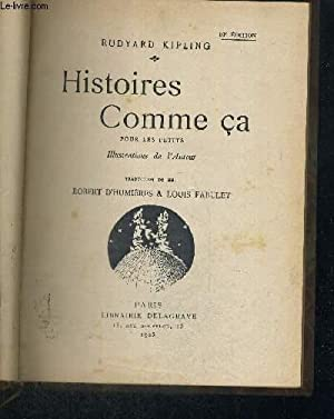 HISTOIRES COMME CA - 10E EDITION: KIPLING RUDYARD