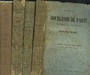 JOURNAL D'UN BOURGEOIS DE PARIS - TOME I+II+III+V - 4 VOLUMES / La convention - 1792 (21 ...