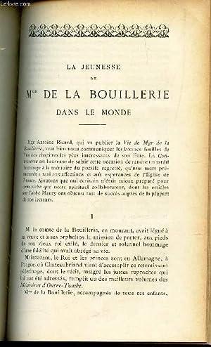 LA JEUNESSE DE Mgr DE LA BOUILLERIE DANS LE MONDE.: ANT. RICARD