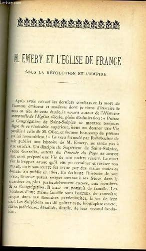 M EMERY ET L'EGLISE DE FRANCE sous: De Lajudie Ch