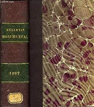 BULLETIN MONUMENTAL 71e VOLUME DE LA COLLECTION - ANTIQUITES FRANKES TROUVEES EN BOHEME PAR LE ...