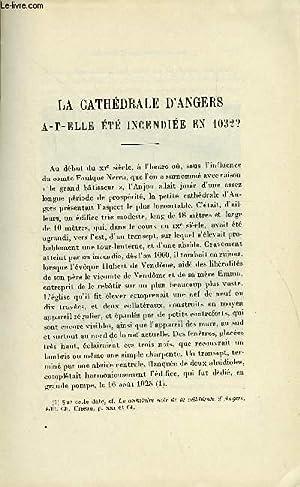 BULLETIN MONUMENTAL 86e VOLUME DE LA COLLECTION N°1-2 - LA CATHEDRALE D'ANGERS A-T-ELLE ETE ...