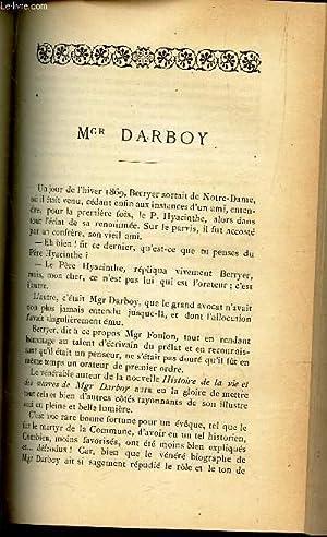 Mgr Darboy par Ch Daniel de PEUCHGARRIC / REVUE SCIENTIFIQUE : L'archeologie prehistorique en ...