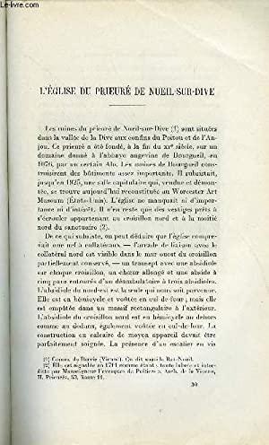 BULLETIN MONUMENTAL 93e VOLUME DE LA COLLECTION N°4 - L'EGLISE DU PRIEURE DE ...