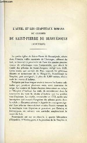 BULLETIN MONUMENTAL 99e VOLUME DE LA COLLECTION N°1 - L'AUTEL ET LES CHAPITEAUX ROMANS DU ...